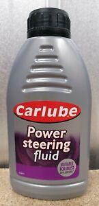 FLUID POWER STEERING CARLUBE HYDRAULIC GENUINE 500ml LUBRICANT NEW