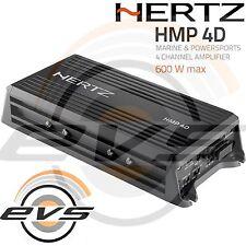 HERTZ HMP4D Amplificatore Auto Moto Nautica 4/3/2 canali Ultra Compatto NUOVO
