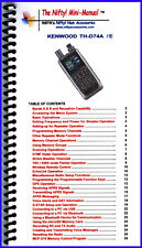 Kenwood Th-D74A Mini-Manual by Nifty Accessories