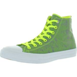 Converse Mens Chuck Taylor II Green Fashion Sneakers 9 Medium (D) BHFO 3710