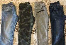 Lot 4 Pantalons : Jeans Slim, regular, skinny Fille / Femme T 36 TBE à Voir !!