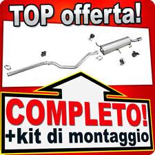 Scarico Completo PEUGEOT 307 CC 2.0 HDI Cabriolet 2005-2008 Marmitta R53