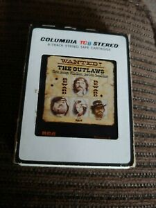 Columbia 8 track tape THE OUTLAWS Wanted *untested