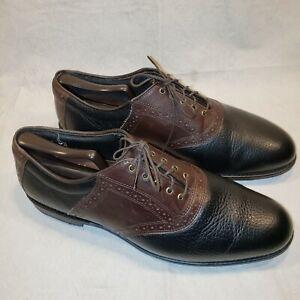 Allen Edmonds Honors Collection Redan Size 11D Leather Golf Shoes