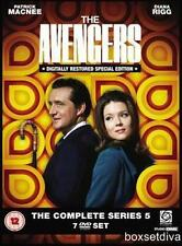 THE AVENGERS - COMPLETE SERIES 5 ****BRAND NEW DIGITALLY RESTORED DVD