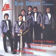 FREE US SHIP. on ANY 2+ CDs! ~Used,Good CD Baron De Apodaca: Cautiva Y Triste
