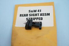 """SMITH AND WESSON S&W  41 REAR SIGHT ASSEMBLY  7"""" BARRELS  Stripped"""