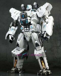 Generation Toy Transformers Gt-10a White Gorilla King Optimus Prime Action Figur