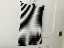 Topshop Boob Dress Size 12 In Black And White Stripe.