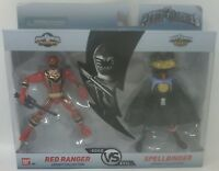 Power Rangers Good vs. Evil Legacy Collection Red Ranger and Spellbinder Figures