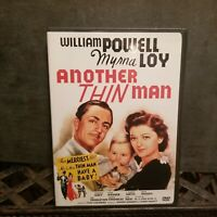 Another Thin Man (DVD, 2005, B&W) 1939 William Powell Myrna Loy VGC