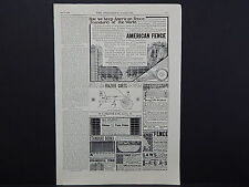 The Breeder's Gazette, Nov. 28, 1906, One Advertising Page, Double Sided #10