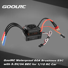 60A Brushless ESC Electric Speed Controller+ 5.5V/3A BEC for 1/10 RC Car D8N7