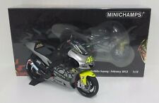 MINICHAMPS VALENTINO ROSSI 1/12 MODELLINO YAMAHA YZR M1 MOTOGP TEST SEPANG 2013