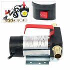 12 V DC 10.5 gpm Fuel Oil Transfer Pump Diesel Kerosene Biodiesel Vane Pump ESA