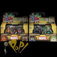 Marvel MINIMATES Series 69 FAN FAVES Action Figure SET 2x2-Packs TIGRA Falcon!