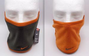 Nike Neck Warmer Face Mask Youth Reversible Urban Orange/Deep Molder