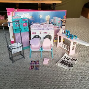 Rare Vintage Barbie  So Much To Do Laundry Play Set Mattel