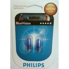 2 AMPOULE VEILLEUSE PHILIPS BLUE XENON W5W RENAULT 19 I Chamade L53_ 1.7 73 90 9