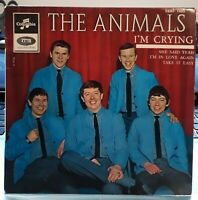 The Animals - I'm Crying 1964 FRANCE EP COLUMBIA