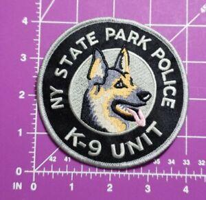 New York State Park Police K9 Unit shoulder patch