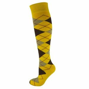 Riding Socks Argyle Mens Ladies Girls Horse Equestrian Country Pattern Cotton
