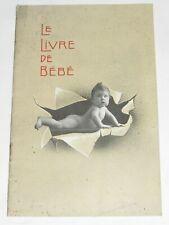 "04F59 RARE ANCIEN CATALOGUE APPAREIL PHOTO KODAK "" LE LIVRE DE BEBE "" 1910/ 1920"