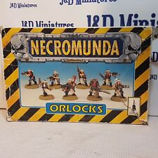 Games Workshop Specialist Games Necromunda House Orlocks Gang in Box