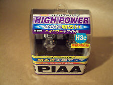 TOYOTA SERA - PIAA - H3C X 2 HEADLAMP BULBS - HIGH POWER - 12V/55W - NEW IMPORT