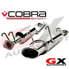 HN15 Cobra Sport Honda Civic Type R EP3 00-06 Cat Back Exhaust Oval Tailpipe