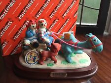 """Flambro RAGGEDY ANN & ANDY Camel w/ Wrinkled Knees Limited Ed """"GIDDY UP"""" MIB!"""