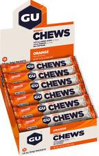 GU Energy Chews: Orange, Box of 18