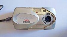 Olympus CAMEDIA C-350 Zoom 3.2MP Digital Camera - Silver Work Well