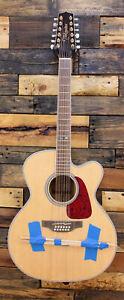 Takamine GJ72CE-12 G Series Jumbo Cutaway 12-String Acoustic-Electric Guitar Nat