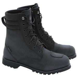 Merlin G24 DRAX waterproof motorcycle boots - BLACK - ALL SIZES