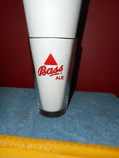 VINTAGE BASS ALE PINT GLASS HEAVY THICK LIBBEY GLASS IMPORTED BEER GLASS