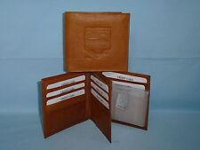 LOS ANGELES KINGS   Leather BiFold Wallet    NEW    brown 4 +
