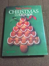 Vintage First 1982 Betty Crocker's Christmas Cookbook, Chefs collectable Book Dj