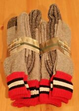 Mens PowerSox by Gold Toe Warm Soft Merino Wool Blend Boot Socks 4pk LARGE 10-13