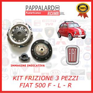KIT FRIZIONE DISCO SPINGIDISCO CUSCINET 3 PEZZI VECCHIA Fiat 500 F L EPOCA 110 F