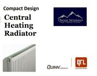 Quinn Compact Central Heating Radiator 600 x 1200mm SC11 Q11612KD