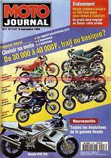 MOTO JOURNAL 1147 KAWASAKI KLX 650 ZEPHYR 550 SUZUKI DR 350 GSF 400 Bandit 1994