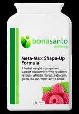 Meta-Max forma-Up fórmula Cetonas De Frambuesa + más Quemadores De Grasa