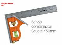 Bahco Combination Square 150mm Sliding combination square metric and imperial