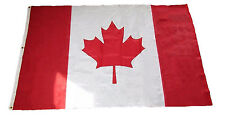 5x8 Embroidered Sewn Canada Canadian Nylon Flag 5'x8' Banner grommets