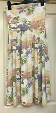 Asos Strapless Floral Dress, Size 8 - Lovely!