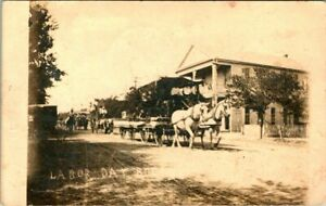 C51-7956, LABOR DAY, 1900-10S, REAL PHOTO POSTCARD.
