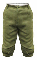 Mens Hunting Shooting Fishing Breeches Hereford Light Sage Tweed Breeks Trouser