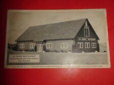 ZS311 Vintage Postcard Al Sears Restaurant Central Ave Hall Maryland
