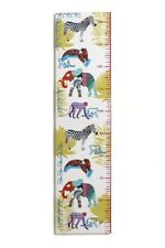 JUNGLE Animals HEIGHT Chart Canvas Picture Home Decor Boys Girls Bedroom